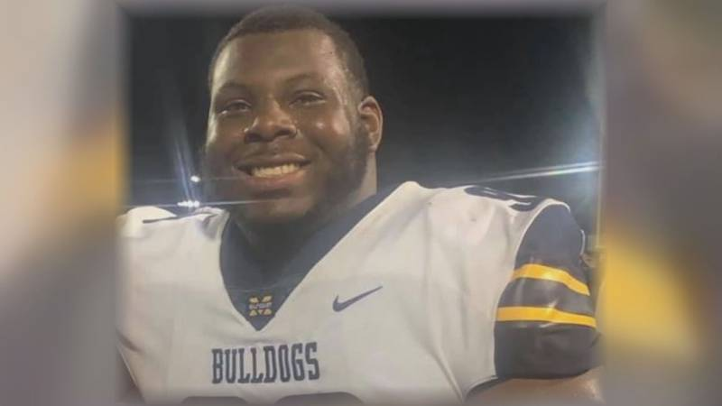 MGCCC defensive lineman Levi Madison was killed in a car crash Sept. 24 while heading back to...