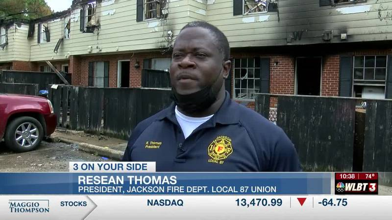Jackson firefighter loses everything