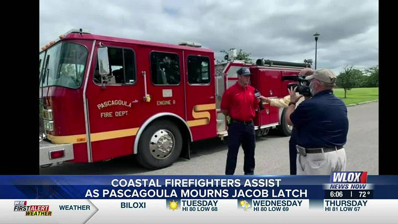 """Derek McCoy, Ocean Springs Fire Chief says, """"We're doing that for them. Taking care of the city..."""