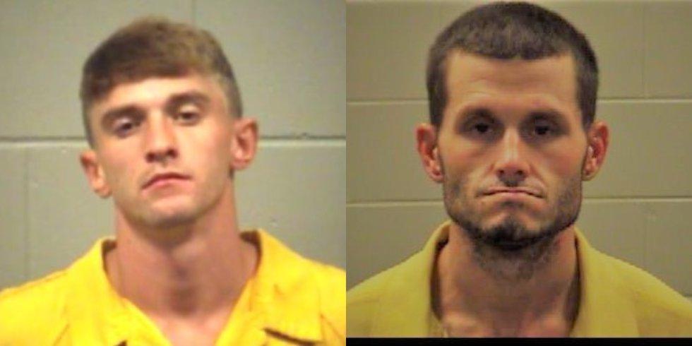 ( left)Taylor Carpenter, (right) Joseph McLeod