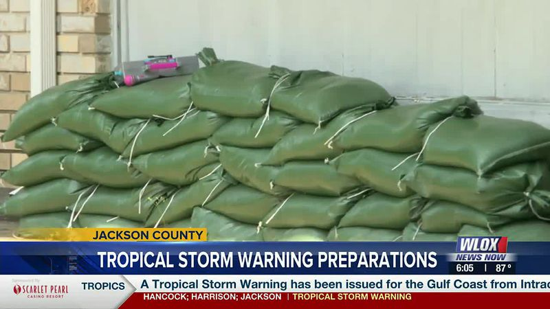 With tropical rain in the forecast this weekend for much of South Mississippi, sandbags are...