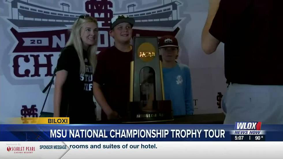 The College World Series Champion Mississippi State Bulldogs are represented in Biloxi tonight,...