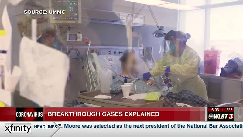 Health expert: Breakthrough COVID-19 cases were expected, and don't mean vaccines are ineffective