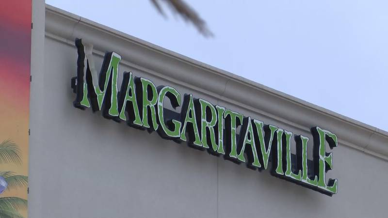 Margaritaville is set to reopen March 10.