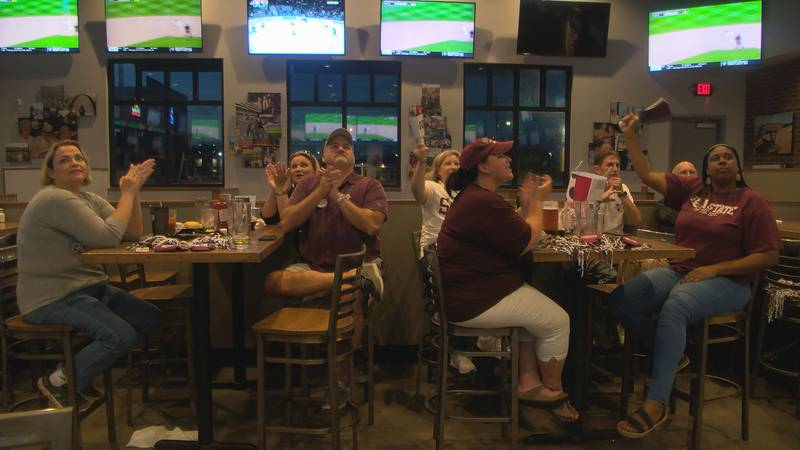 Across South Mississippi on Monday, Mississippi State fans gathered at homes, sports bars,...