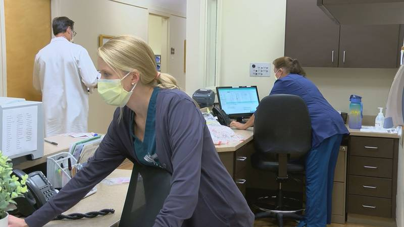 Singing River Health System has had to shift some of their staff from underused clinics to...
