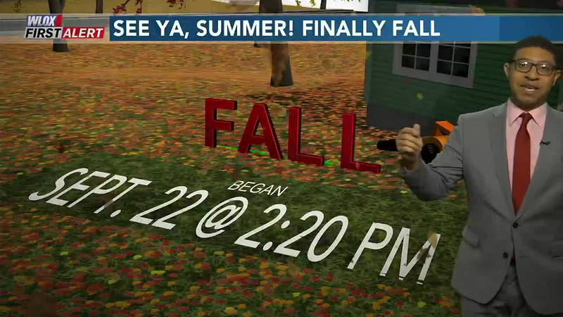 Yesterday brought the change of seasons. And today, we feel fall in full force! Click and watch...
