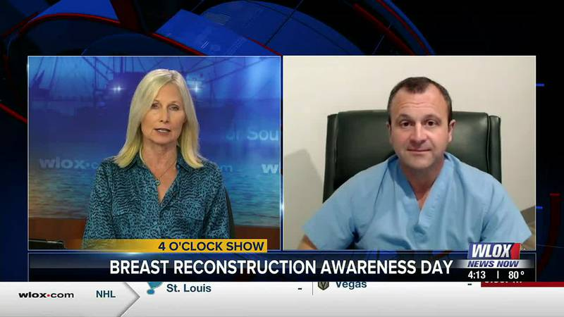 October is Breast Cancer Awareness Month, and today we're talking about breast reconstruction....