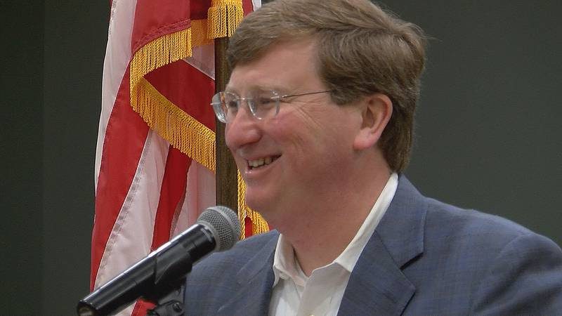 Residents and city officials made thunderclaps as Gov. Tate Reeves announced that Hancock...