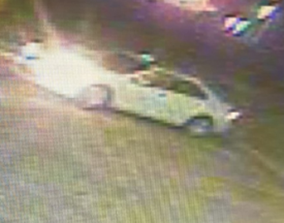The suspect authorities say robbed a Waffle House in St. Martin early Friday drove off in this...