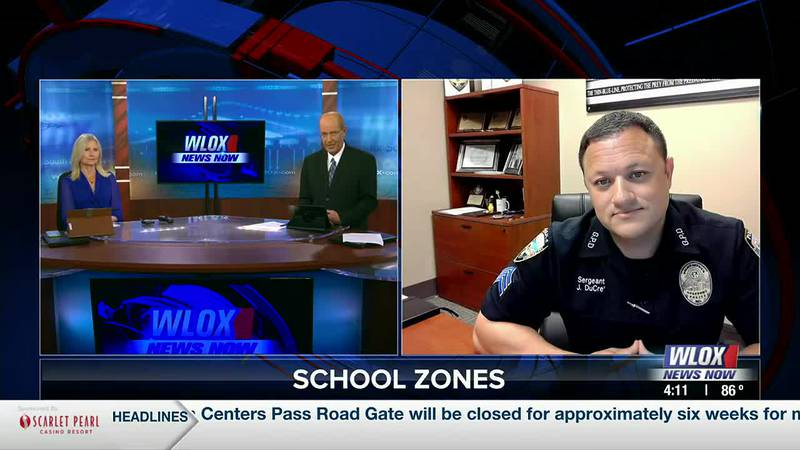 Students in Gulfport begin heading back to school tomorrow, and police want you to be aware...