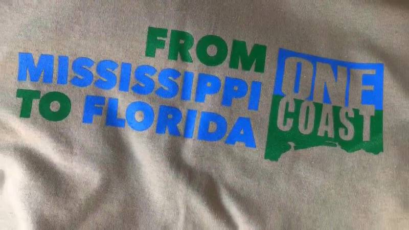 Multiple cities across south ms are involved in the One Coast MS to FL relief effort.