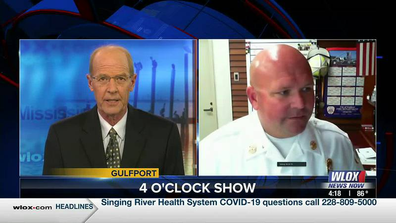 Gulfport Fire Chief Billy Kelley was just sworn in last week. He joins us to share more about...