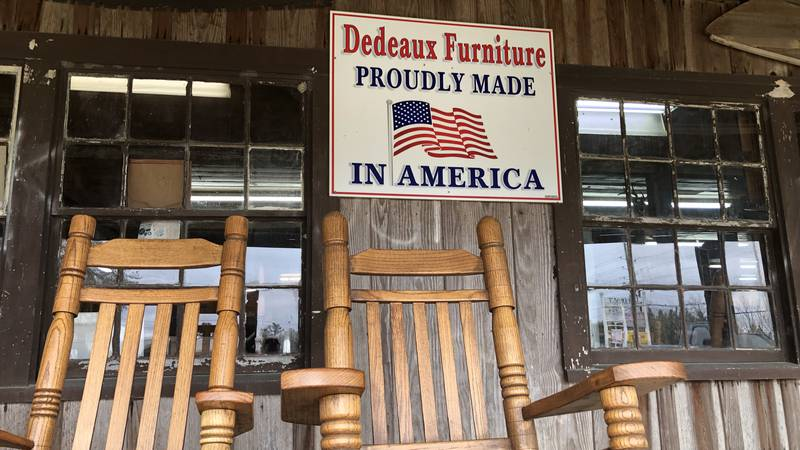 South Mississippi rocking chair going to Washington