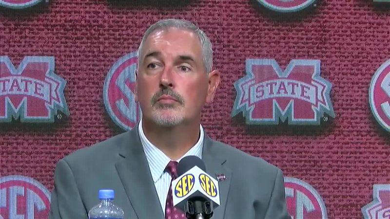 Mississippi State Head Coach Joe Moorhead