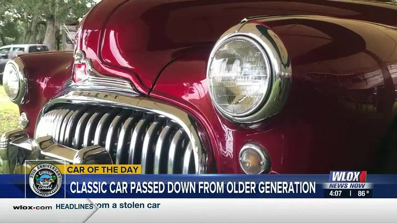 Our 4 O'Clock Show Cruisin' Car of the Day features a classic car that was handed down from...