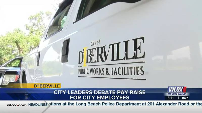 D'Iberville leaders would like to add more money into the pockets of city workers across the...