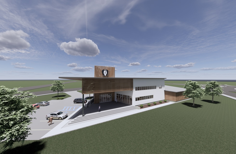 The Mississippi Songwriters Performing Arts Center will feature indoor and outdoor space.