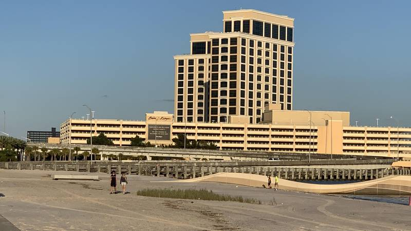 Eight percent of Mississippi's gaming revenue is allocated to state funds.
