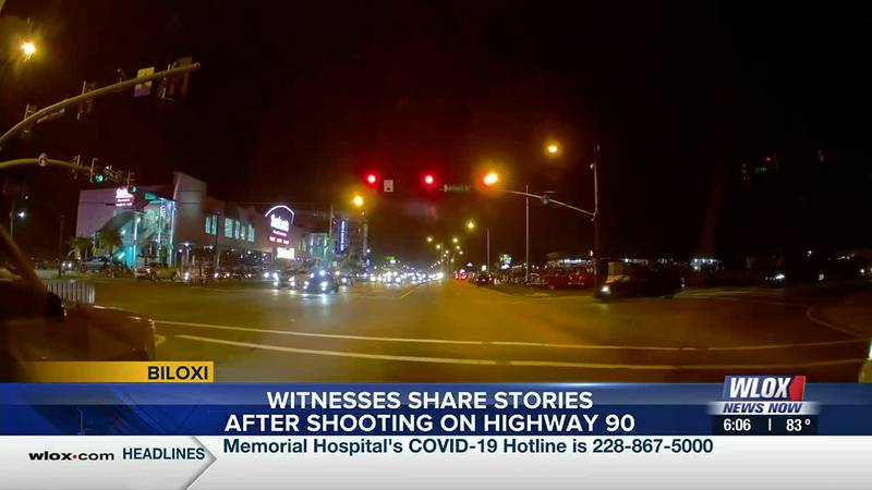 One witness says, people were running everywhere and she continued to shout 'get down' to...