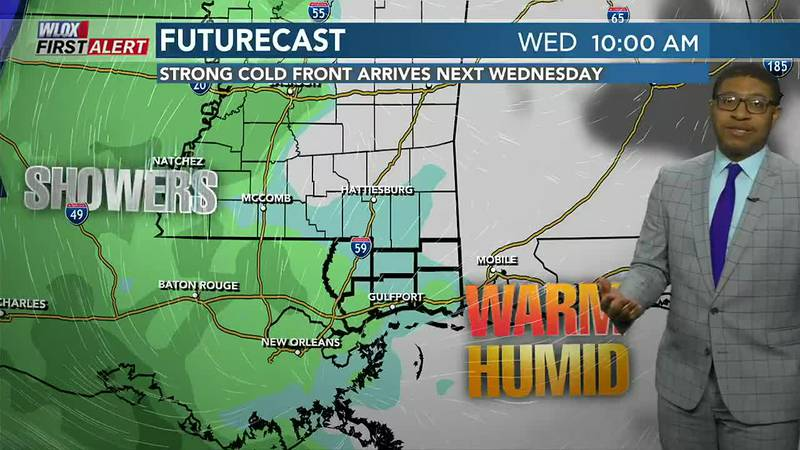 Generally nice weather into this weekend. Then, next week a strong cold front may bring...