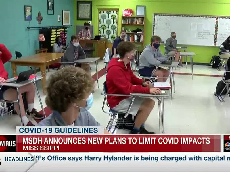 MSDH updating COVID19 guidelines related to masking, schools and hospitals
