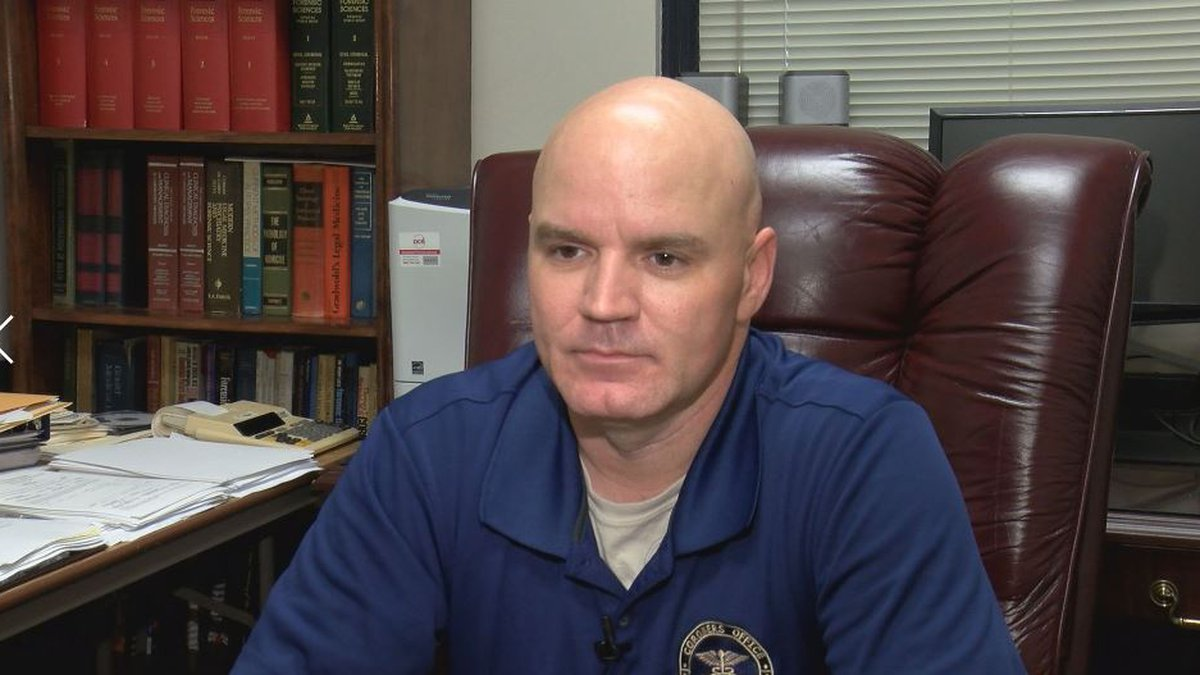 Incoming Harrison County Coroner Brian Switzer says his predecessor Gary Hargrove helped make...