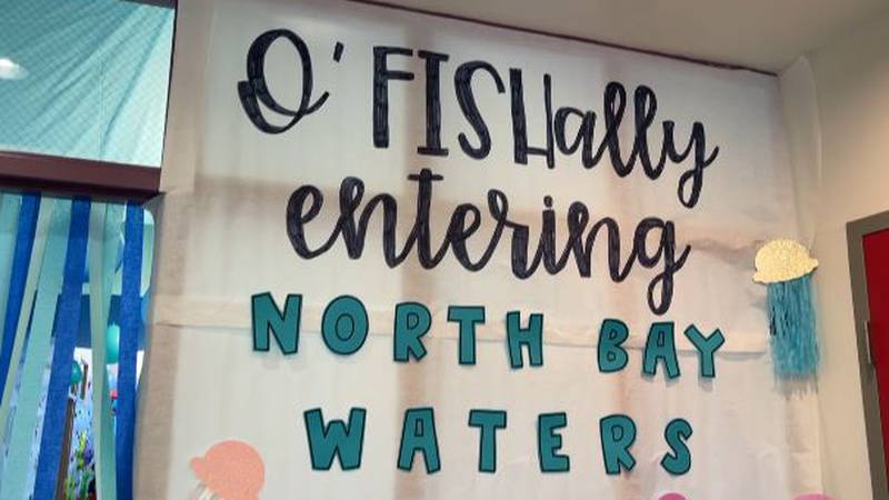 Biloxi's North Bay Elementary brings aquarium to the students