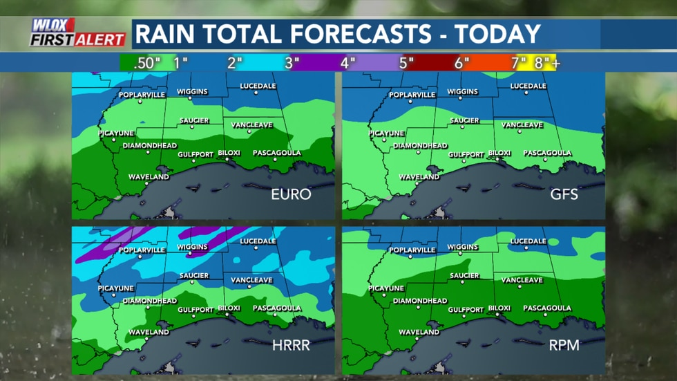 Disruptive weather like fog, rain, and thunderstorms will impact the WLOX area on Wednesday and...