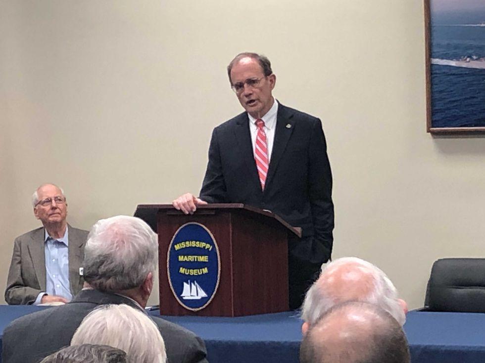 Secretary of State speaks at Maritime Museum Meeting