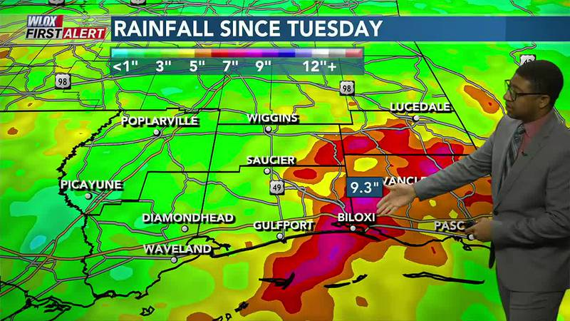 Yikes! Flooding from extreme rain this week. Plus, a quick look at the tropics and next week's...