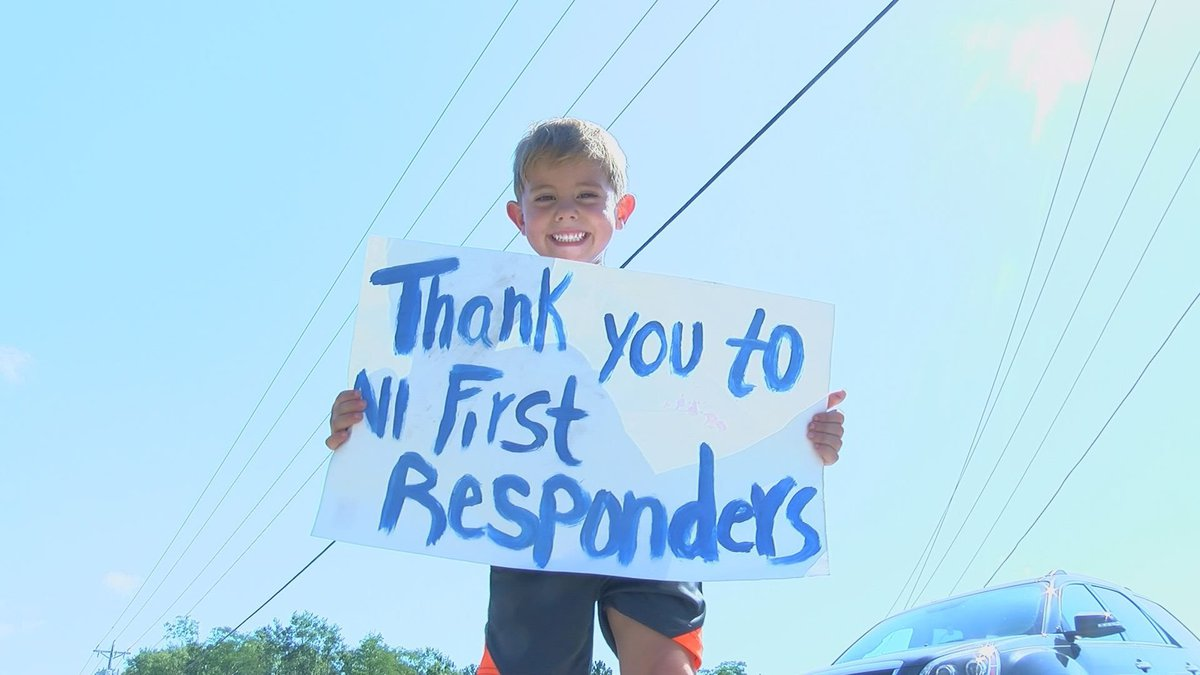 Bentley's parents say they hope other kids will see the importance of showing appreciation for...