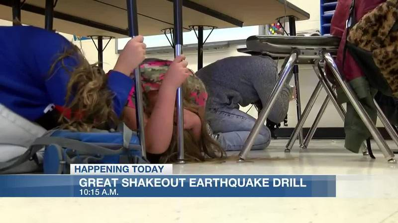 Great Shakeout Earthquake Drill