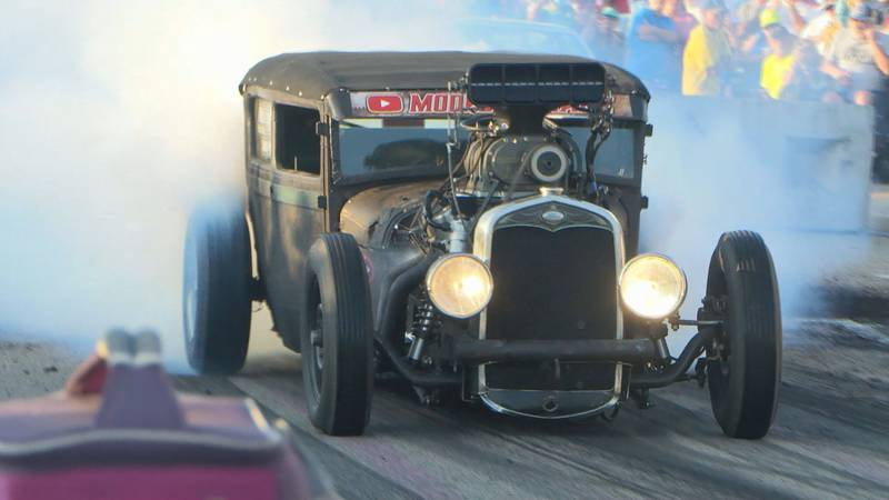 Dozens of classic cruisers and every-day automobiles lined up Thursday for the chance to bring...