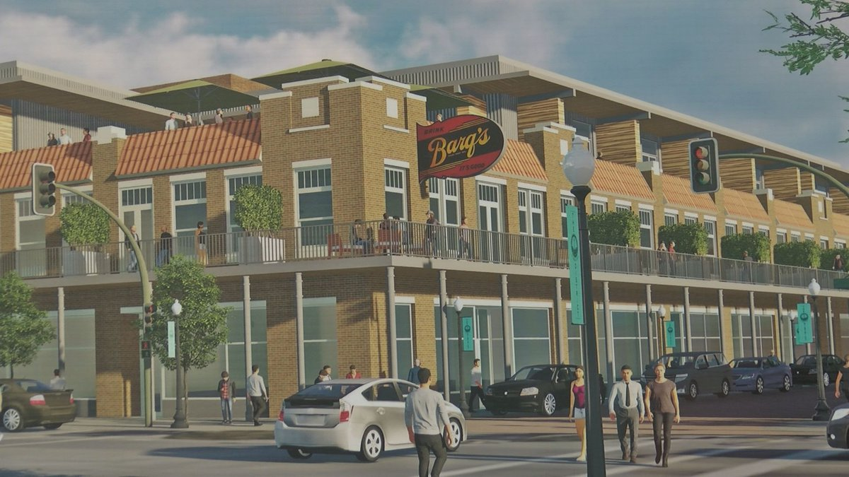 City leaders are now hoping the Barq Building will turn into a cornerstone of the Howard Avenue...