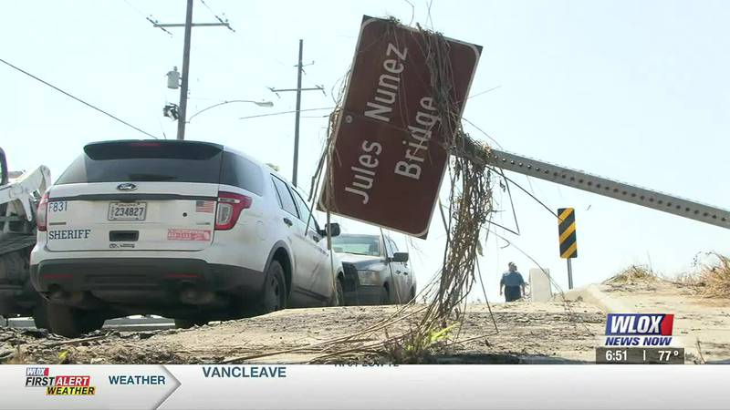 Residents of Jean Lafitte are spending the weekend surveying the damage in their community...