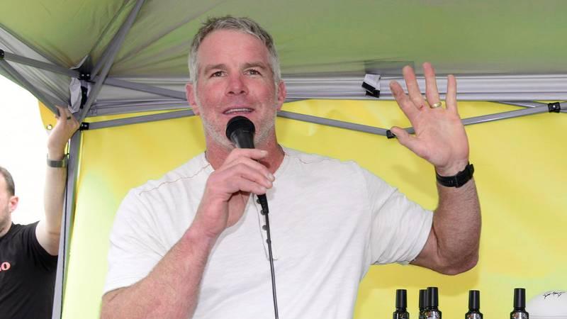 Brett Favre at an event in February 2020.