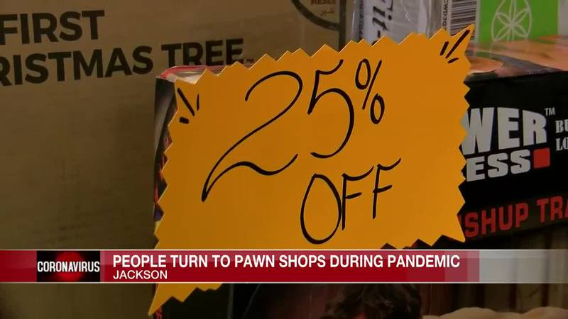 People turn to pawn shops during pandemic