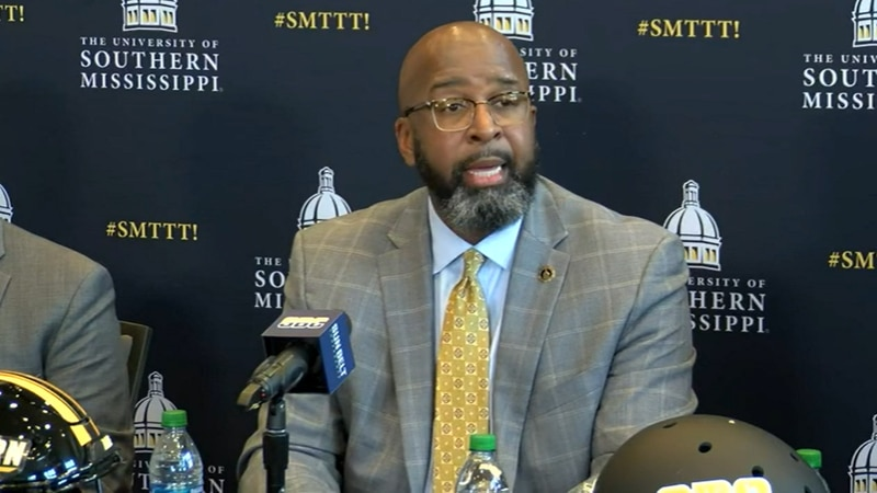 The Sun Belt Conference and the University of Southern Mississippi hosted a joint press...