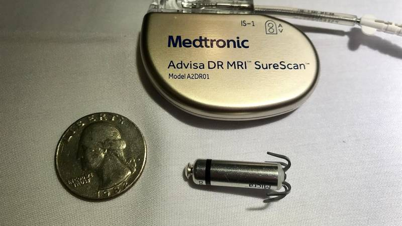 Medtronic's Transcatheter Pacing System is so small it can be inserted without extensive...