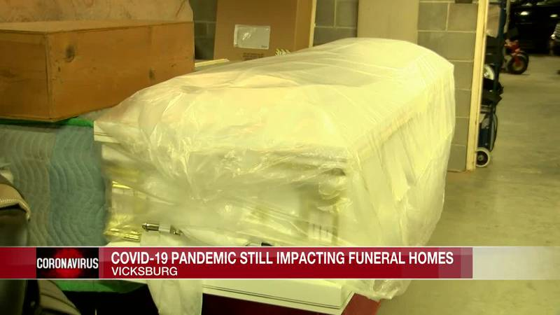 COVID-19 pandemic still impacting funeral homes