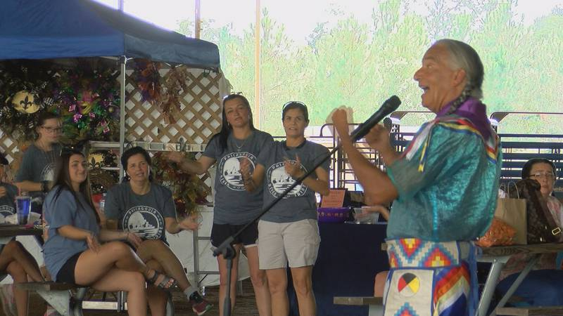 People in Vancleave learned from a real Lakota tribesman