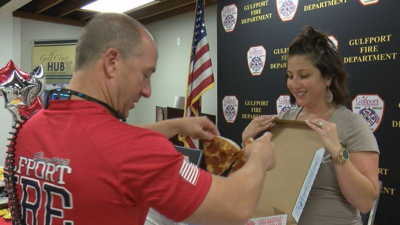 A massive effort to feed first responders on 9/11 started at the Gulfport Fire Department three...