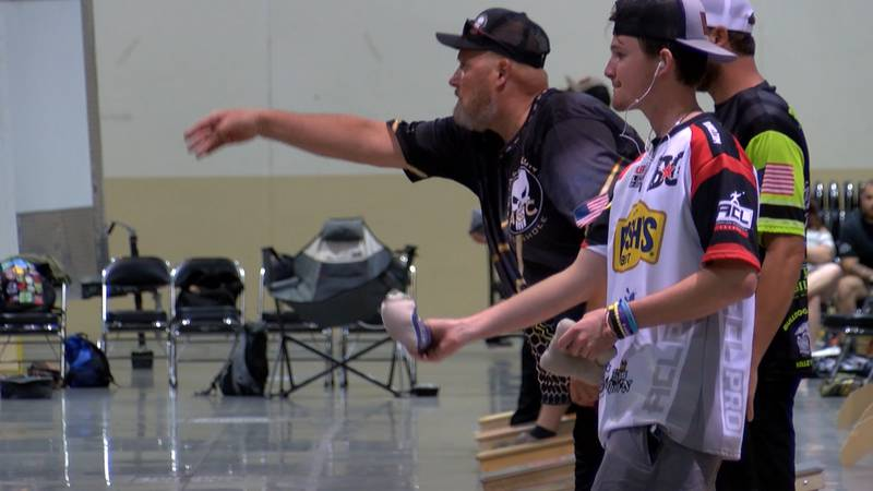 More than 100 competitors from across the state battled it out over the weekend.