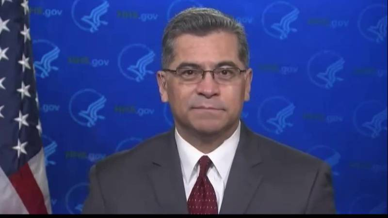 Becerra discusses health insurance tax credits offered under ARP.