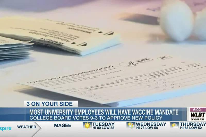 Most Mississippi public university employees facing vaccine mandate