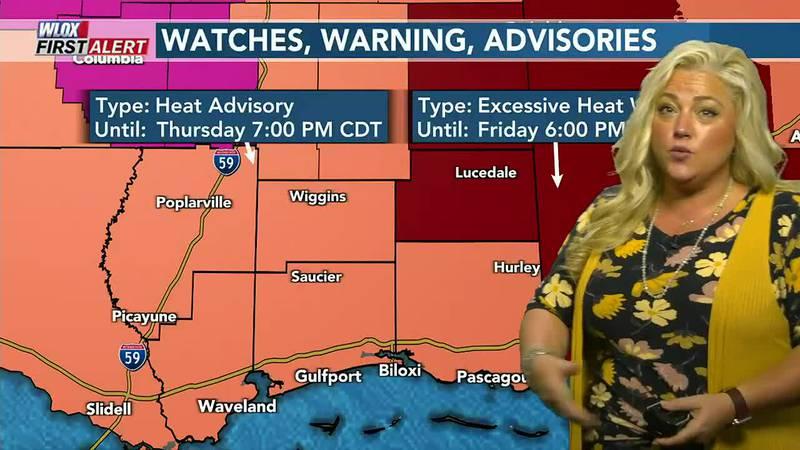 Heat Advisory, Excessive Heat Watch