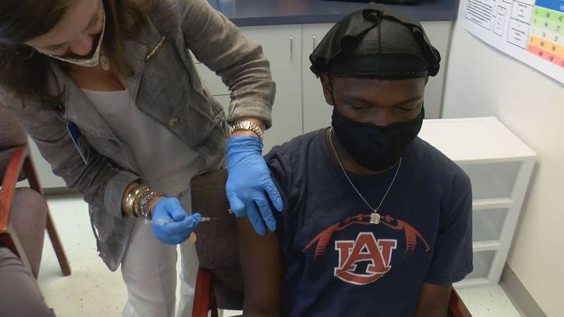 The COVID vaccination drive by the Pascagoula-Gautier School District drew 114 people.