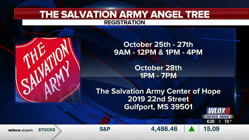 Major Jerry Friday from The Salvation Army Mississippi Gulf Coast has details on this year's...