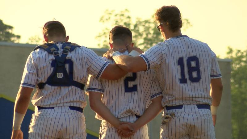 The Stone community rallied around Gehrig Conard after the sudden passing of his father.